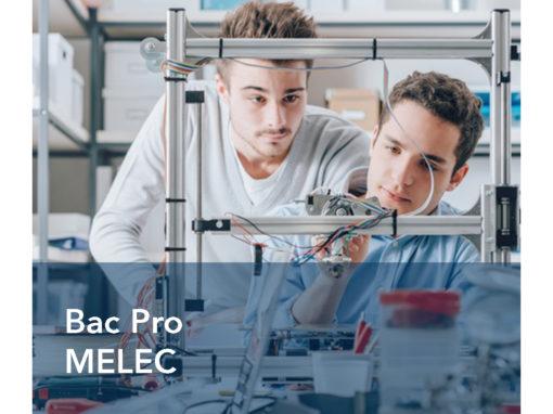 Bac Pro Métiers de l'ELectricité et de ses Environnements Connectés